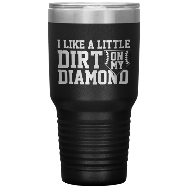 Dirt on my Diamond Tumbler