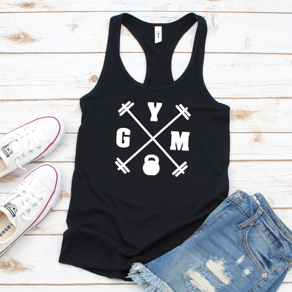 GYM Kettleball Workout Tank Top