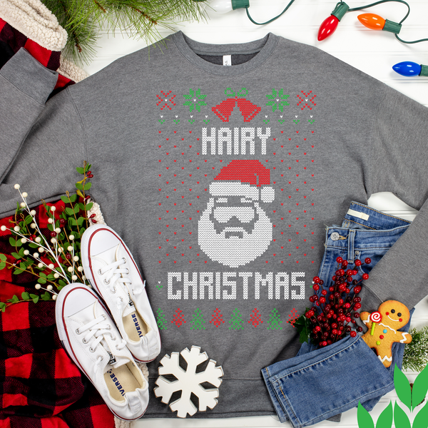 Hairy Christmas Ugly Christmas Sweater