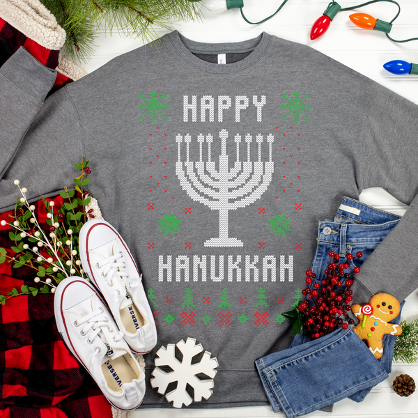 Happy Hanukkah Ugly Christmas Sweater