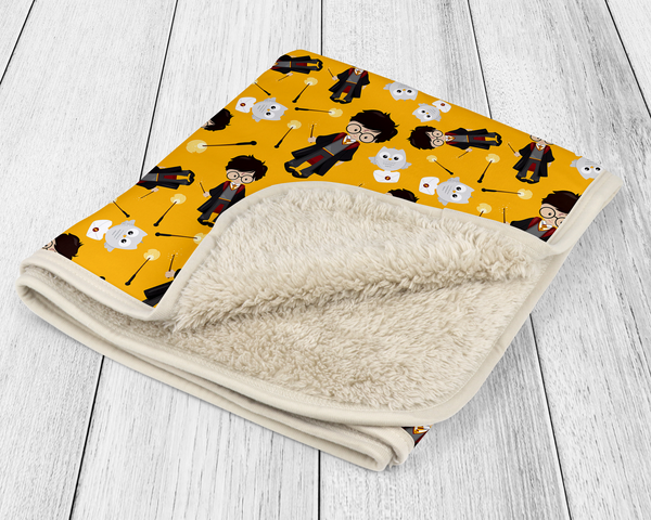 Harry Potter Sherpa Blankets
