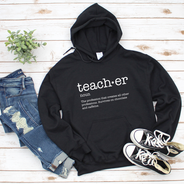 Definition of a Teacher Unisex Heavy Blend Hooded Sweatshirt