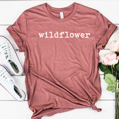 Wildflower Unisex Jersey Short Sleeve Tee