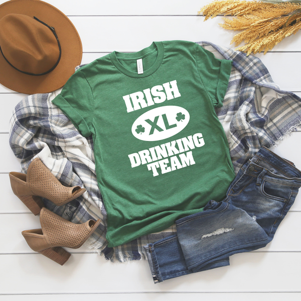 Irish Drinking Team Unisex Jersey Short Sleeve Tee