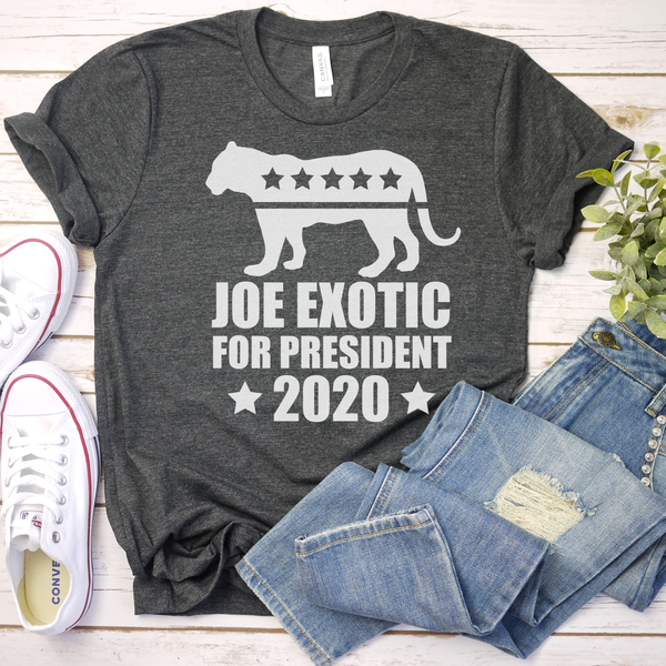 Joe Exotic for President 2020 Unisex Jersey Short Sleeve Tee