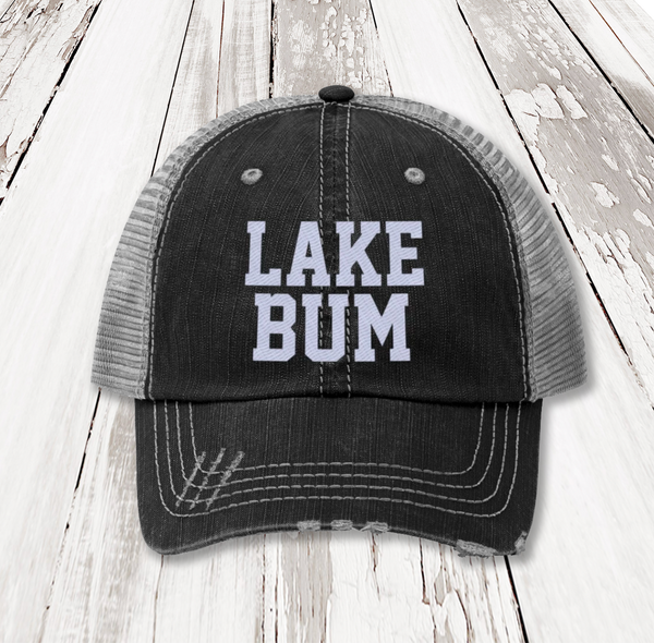 Lake Bum Unisex Trucker Hat