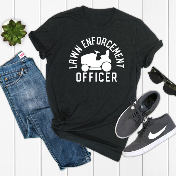 Lawn Enforcement Unisex Jersey Short Sleeve Tee