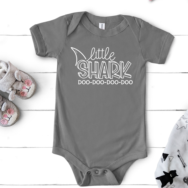 Little Shark Infant Fine Jersey Bodysuit