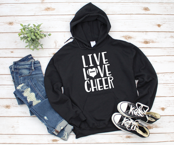 Live Love Cheer  Unisex Jersey Short Sleeve Tee