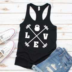 LOVE Kettleball Workout Tank Top