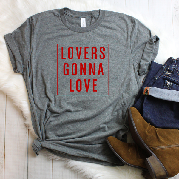 Lovers Gonna Love Unisex Jersey Short Sleeve Tee