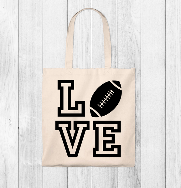 Copy of LIVE Football Tote Bag - Vintage
