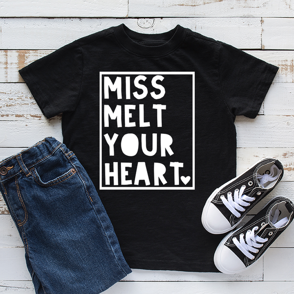 Miss Melt Your Heart Childrens Tshirt