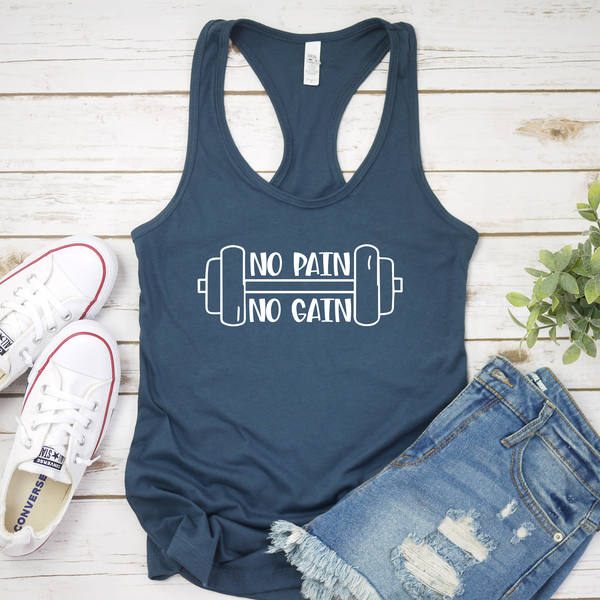 No Pain No Gain Workout Tank