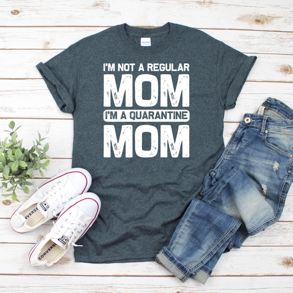 Not a Regular Mom Unisex Jersey Short Sleeve Tee