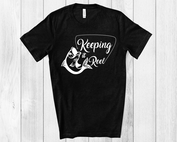Keeping it Reel Unisex Jersey Short Sleeve Tee