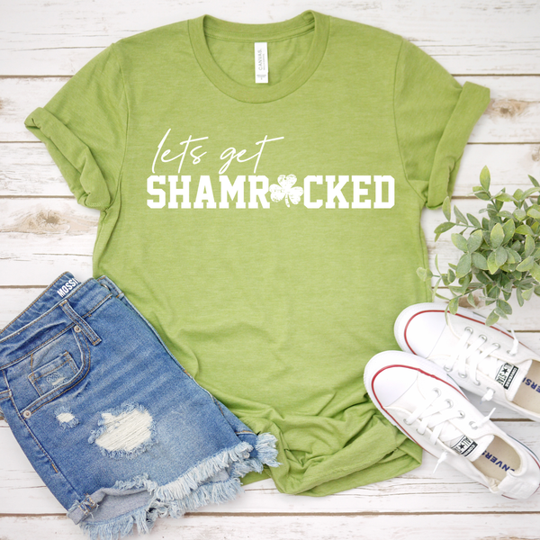 Lets Get Shamrocked Unisex Jersey Short Sleeve Tee
