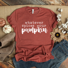 Whatever Spices your Pumpkin Unisex Jersey Short Sleeve Tee