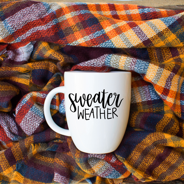 Sweater Weather Latte mug
