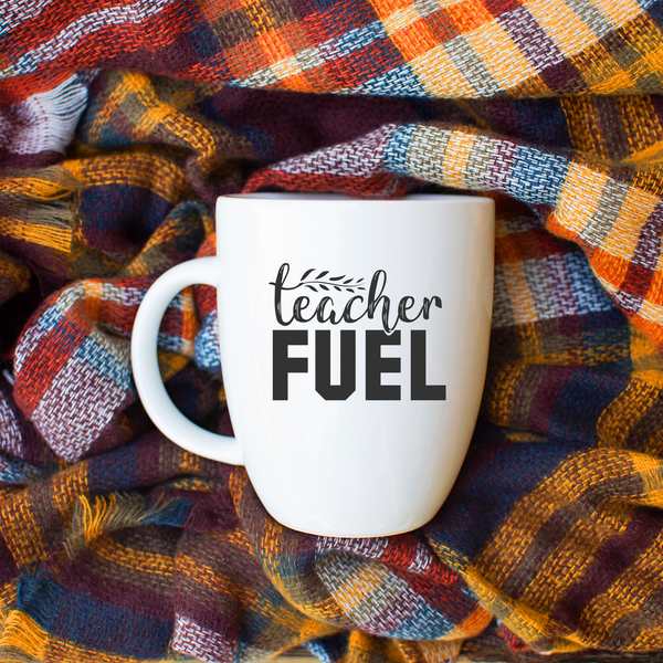 Teacher Fuel Latte mug