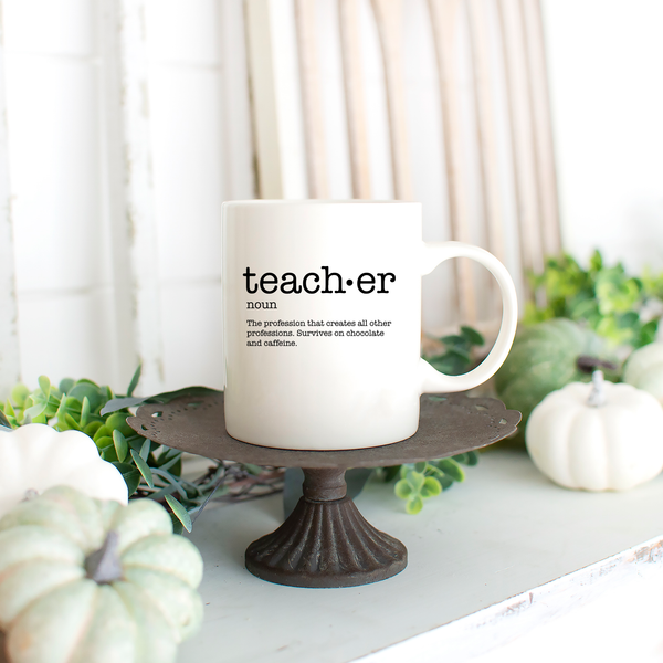 Definition of a Teacher Mug 11oz