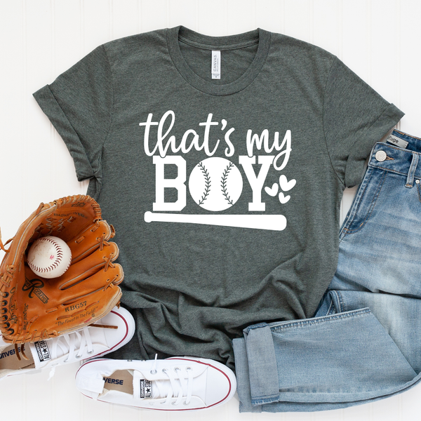 Thats My Boy Unisex Jersey Short Sleeve Tee