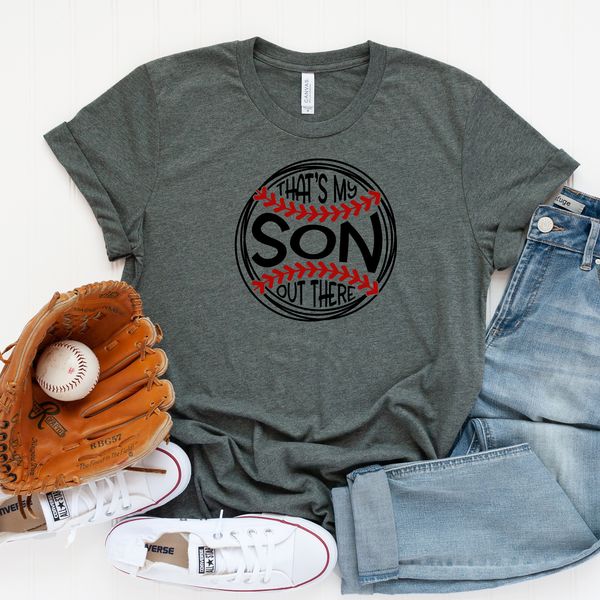 That's my Son out There Unisex Jersey Short Sleeve Tee