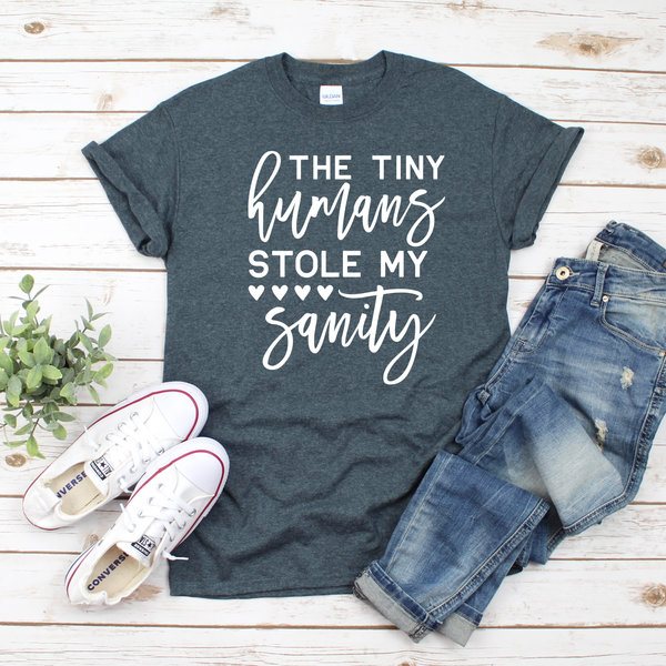 Tiny Humans Stole my Sanity Unisex Jersey Short Sleeve Tee