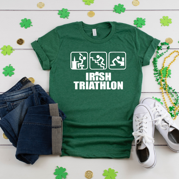 Irish Triathlon Unisex Jersey Short Sleeve Tee