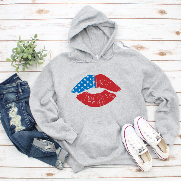 American Lips Unisex Heavy Blend Hooded Sweatshirt