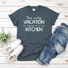 The Only Vacation I'm taking Unisex Jersey Short Sleeve Tee