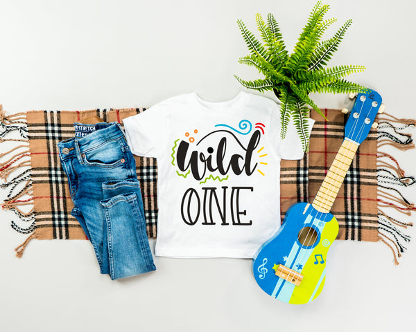 Wild One Infant Fine Jersey Tee