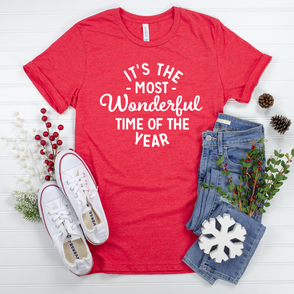 It's the Most Wonderful Time of the Year Unisex Jersey Short Sleeve Tee