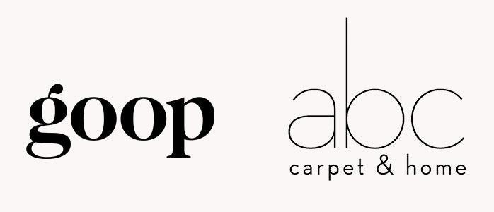 Goop and abc carpet and home;