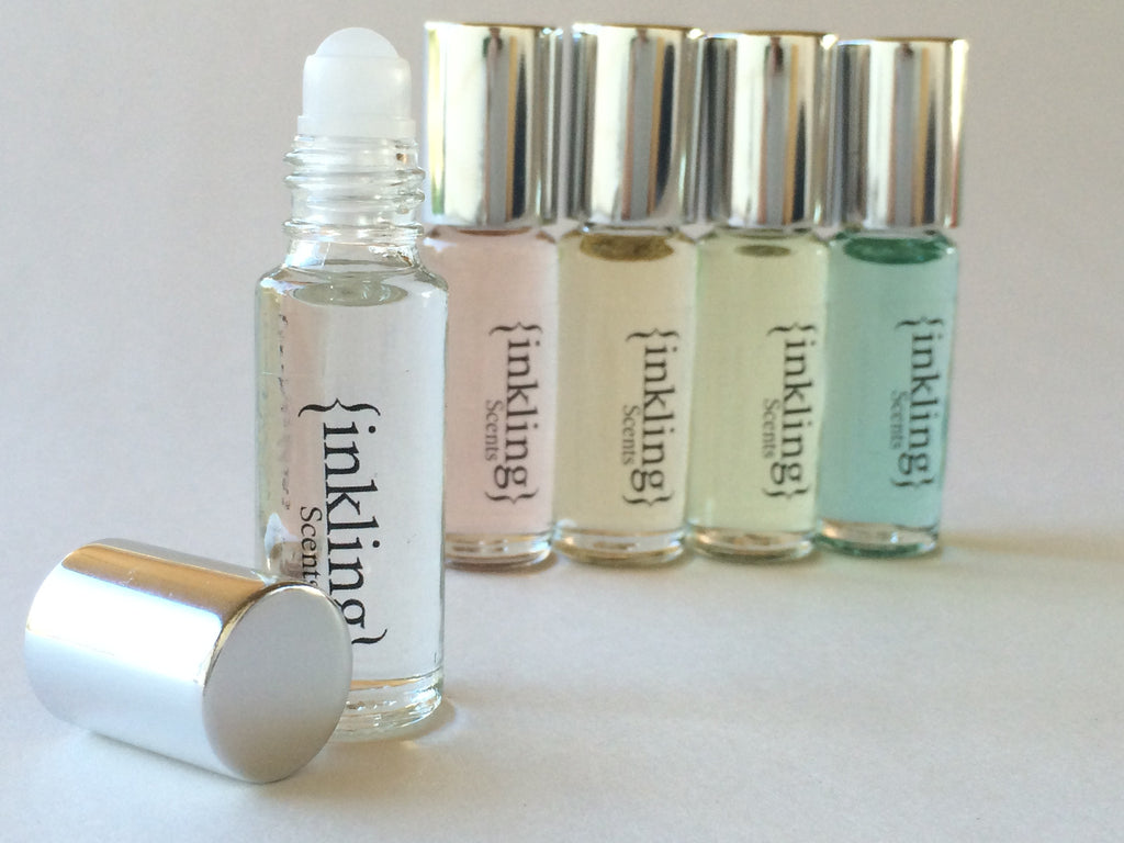 Healthy, natural oil perfume - mini roll-on bottle