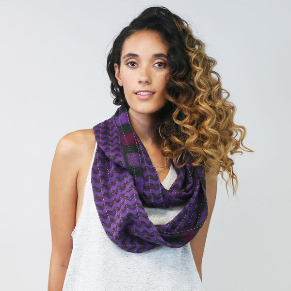 Infinity Scarf - Violet