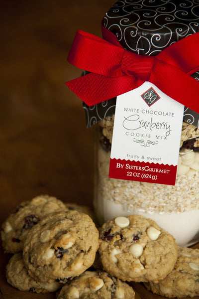 Sisters' Gourmet White Chocolate Cranberry Cookie Mix