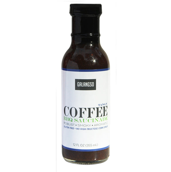 Tangy Coffee BBQ Saucinade - 12 oz
