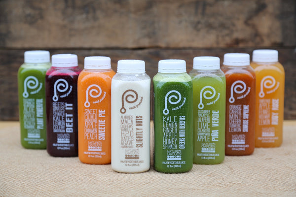 Organic Cold Pressed Juices - 8 Pack of 12oz