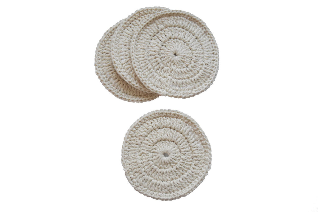Toockies Organic Cotton Awaken Coasters-Set of 4