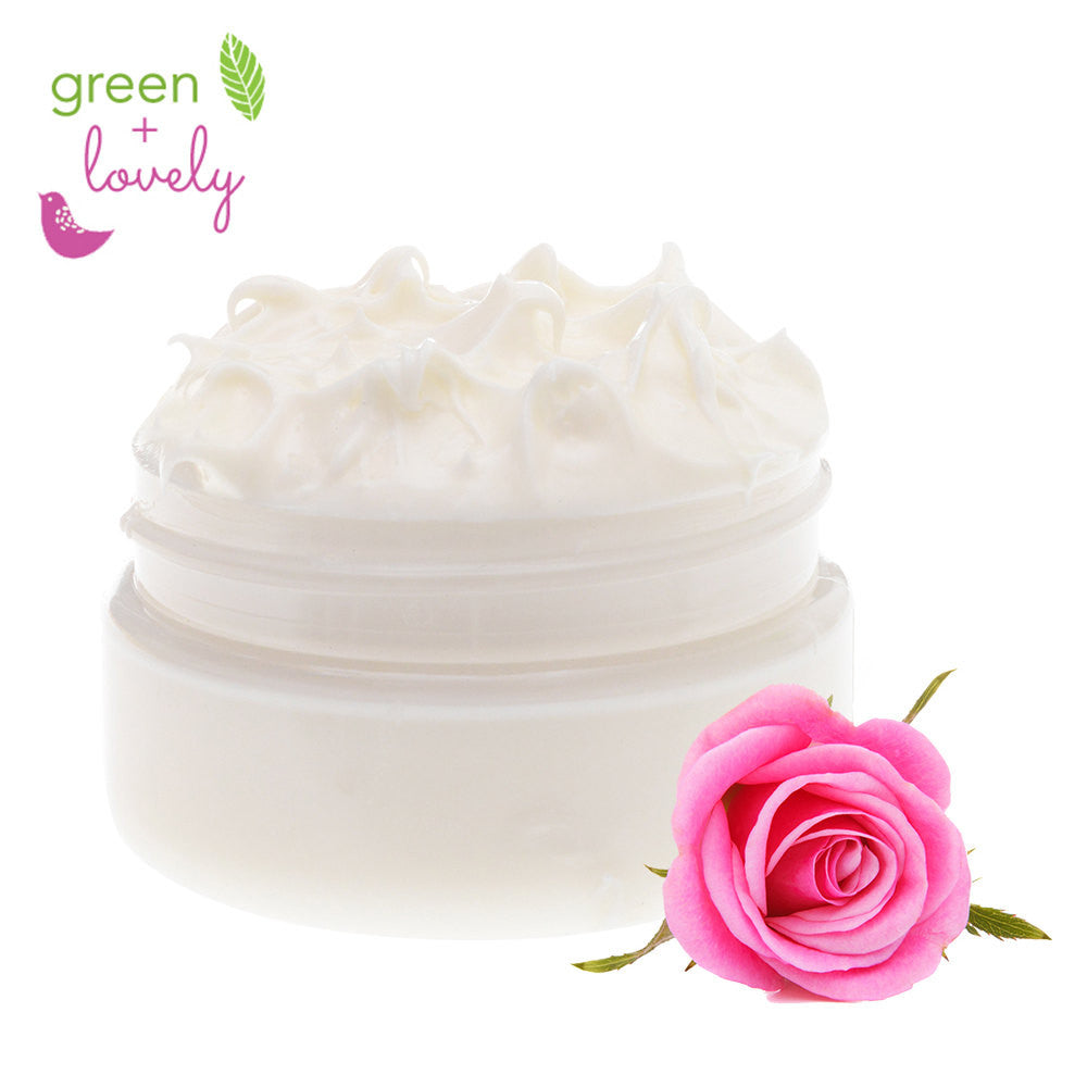 Pure as Petals Rosewater Face Cream, Lotion. Organic. Rich and Luxurious. Rose Hydrosol. Aloe. Nourishing.