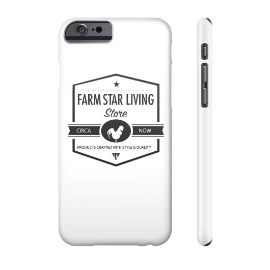 Phone Case Slim iPhone 6 - Farm Star Living