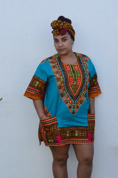 Mini Dashiki Dress