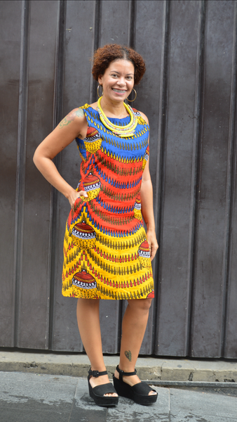 Kazini Kitenge Dress