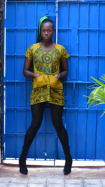 Mini Khanga Dress