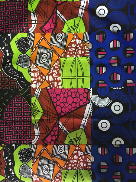 Mixed Kitenge fabric
