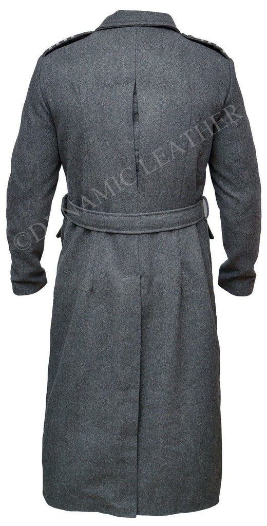 Capitaine JACK HARKNESS Gris Laine Tissu Trench Caban