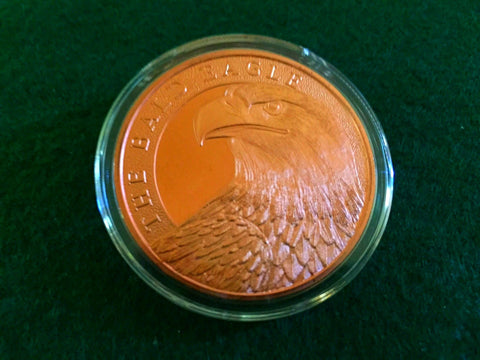 Bald Eagle Copper Coin