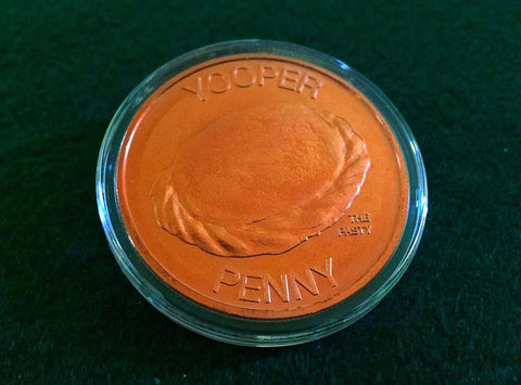 Yooper Penny Copper Coin