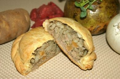 Small Traditional Pasty with Rutabaga 8oz